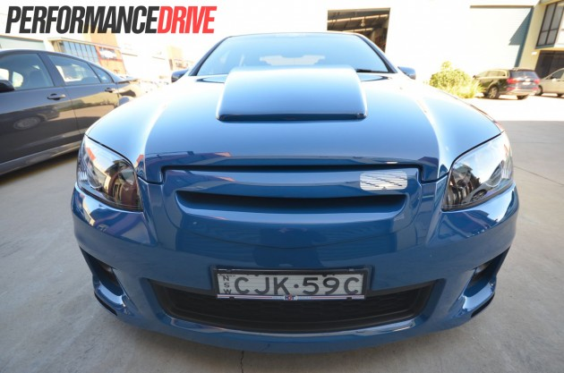 HDT VE VK Group A front bumper