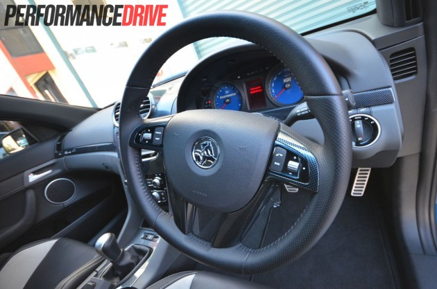 HDT VE VK Group A steering wheel
