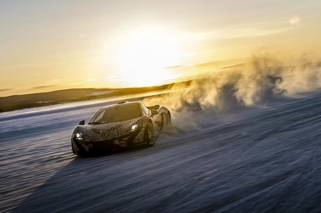 McLaren P1 prototype Arctic Circle