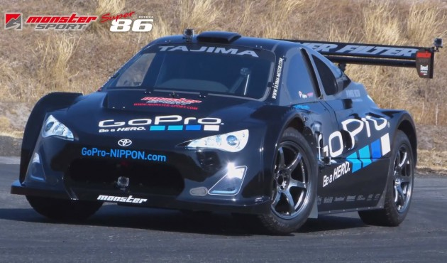Monster Sport Toyota Super 86 Pikes Peak car