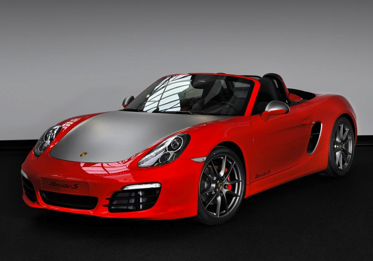 Porsche Boxster S Red 7 Edition Introduced In The