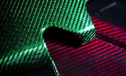 Prodrive develops colourful carbon fibre in the UK