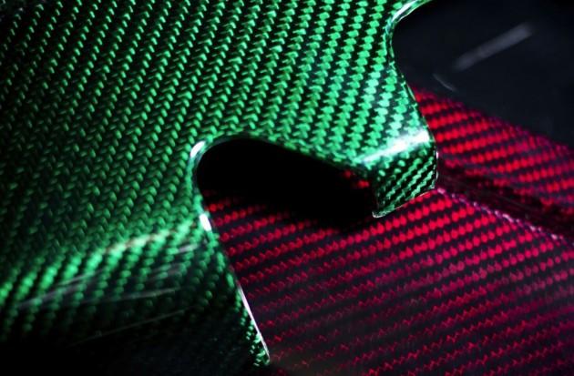 Prodrive coloured carbon fiber
