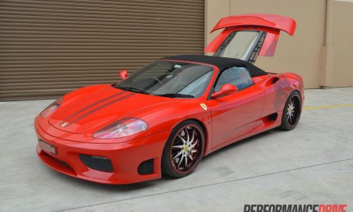RamSpeed Ferrari 360 with twin superchargers, first in Australia
