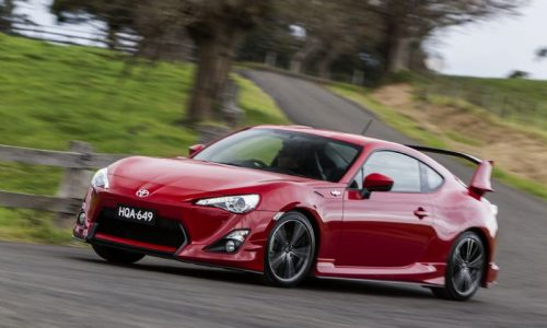 Australian vehicle sales for March 2013 – Toyota 86 storms ahead