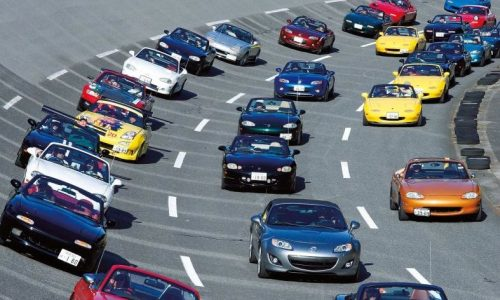 Mazda MX-5 parade record to be reset in the Netherlands