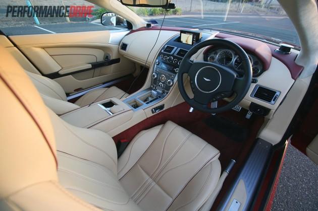 2013 Aston Martin DB9 interior