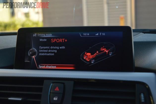 2013 BMW ActiveHybrid 3 Sport Plus mode