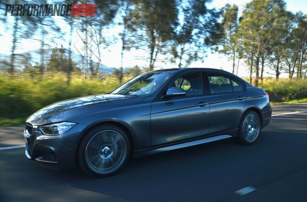 2013 BMW ActiveHybrid 3 driving