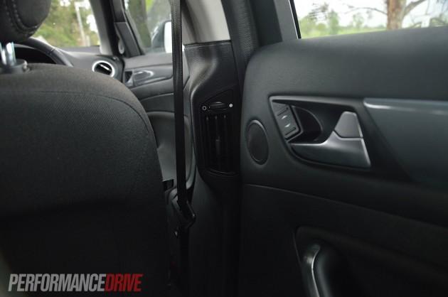 2013 Ford Mondeo Zetec EcoBoost rear vents