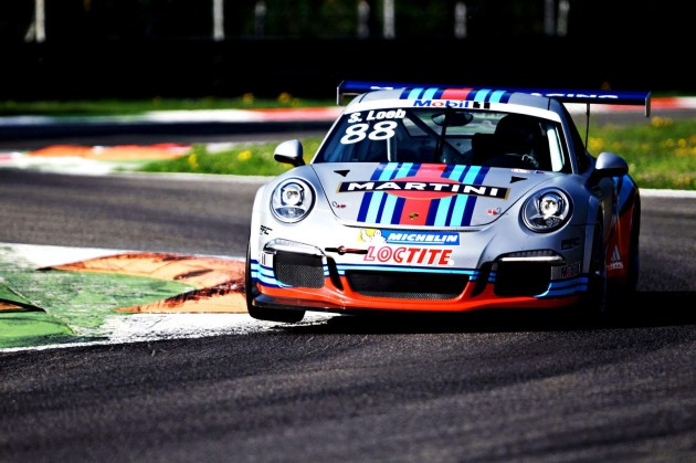 2013 Martini Racing Porsche 911 GT3 Cup-track