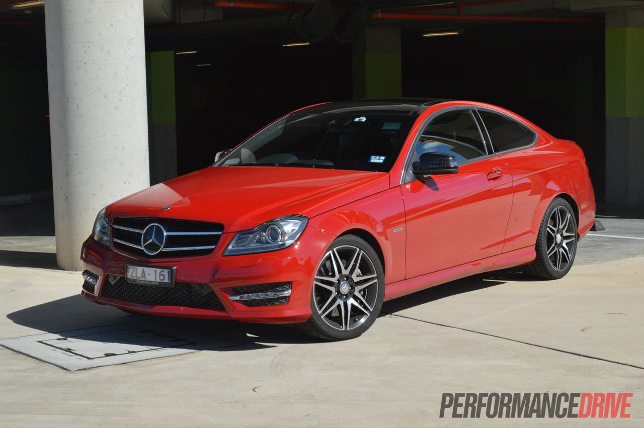 2013 Mercedes-Benz C 250 Coupe Sport Review (video