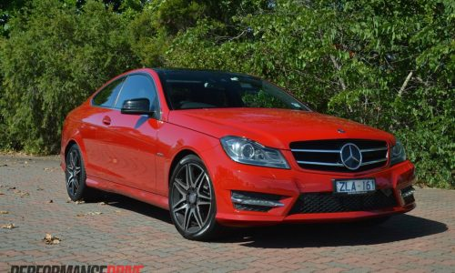 2013 Mercedes-Benz C 250 Coupe Sport review (video)