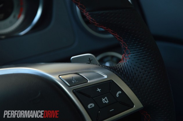 2013 Mercedes-Benz C 250 Coupe Sport paddle shifters