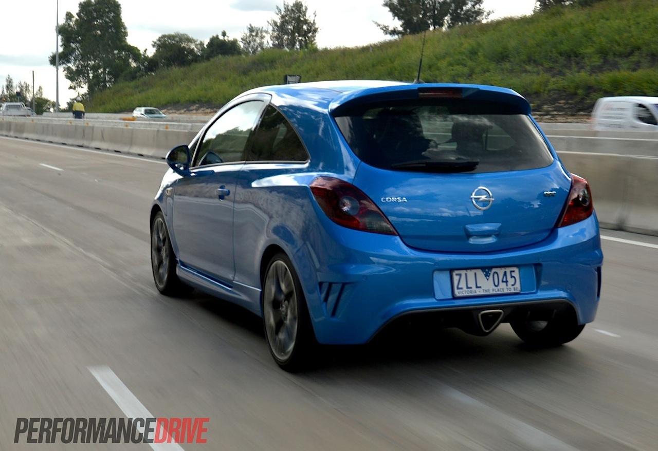 2013 Opel Corsa OPC review (video)   PerformanceDrive