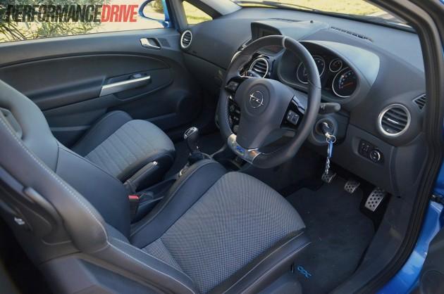 2013 Opel Corsa OPC interior