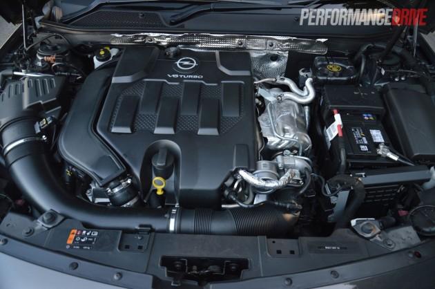 2013 Opel Insignia OPC 2.8L V6 turbo engine