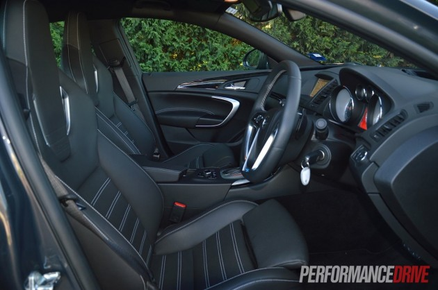 2013 Opel Insignia OPC front seats