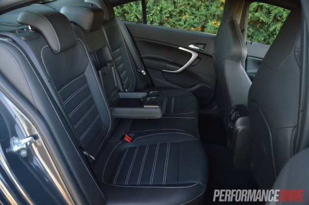 2013 Opel Insignia OPC rear seats
