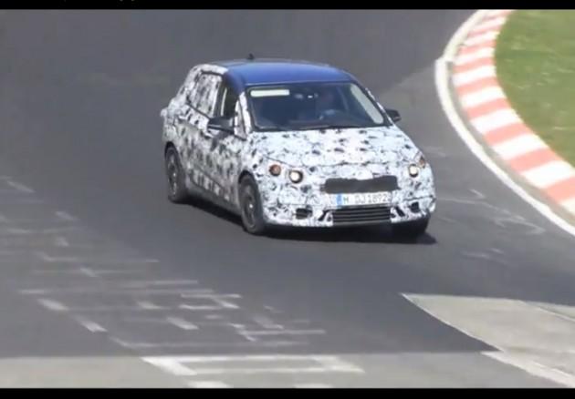 2014 BMW 1 Series FWD prototype