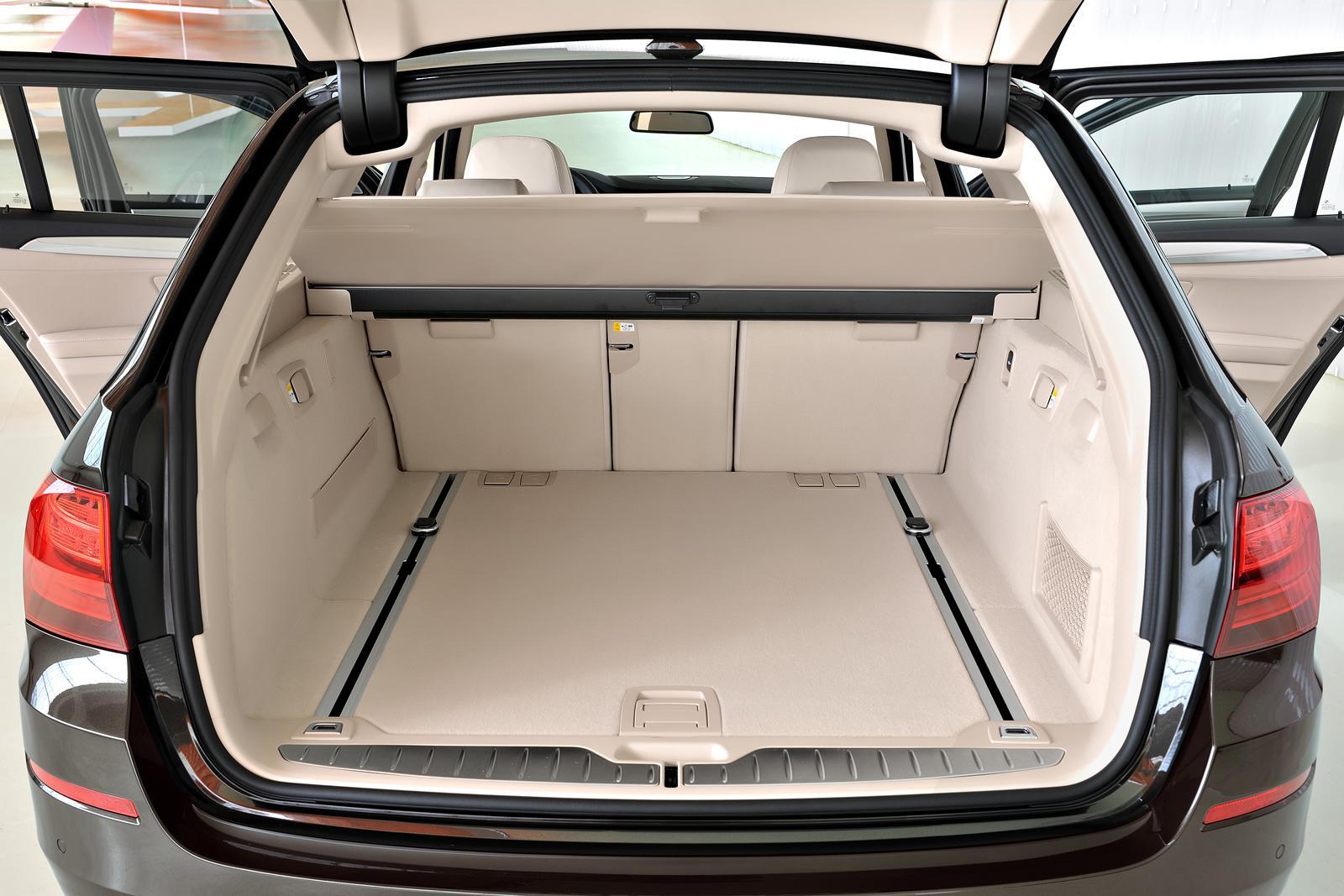 Bmw X5 Cargo Space >> 2014 BMW 5 Series revealed; styling tweaks, new trim levels | PerformanceDrive