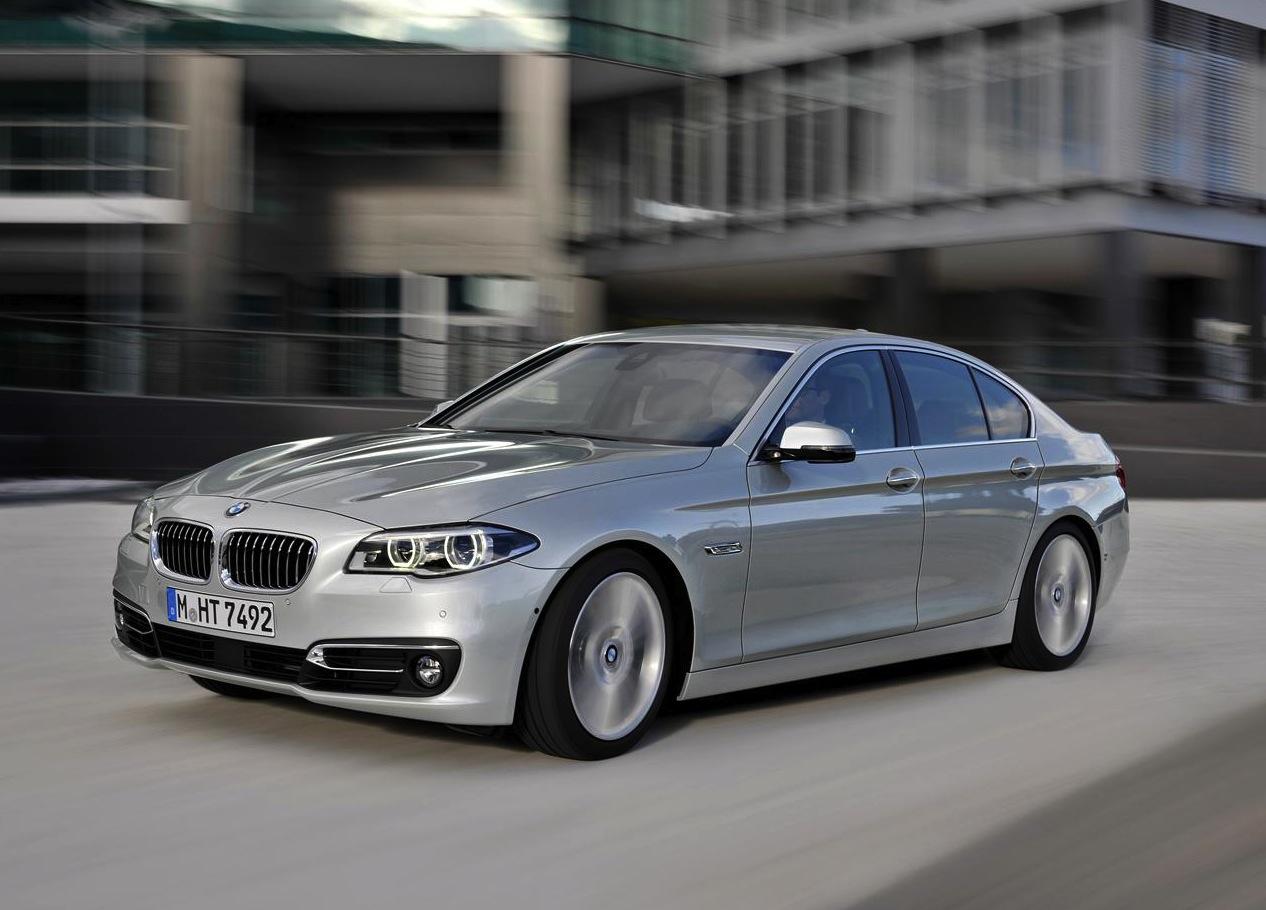 2014 BMW 5 Series Revealed; Styling Tweaks, New Trim