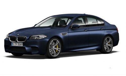 2014 BMW M5 facelift images revealed