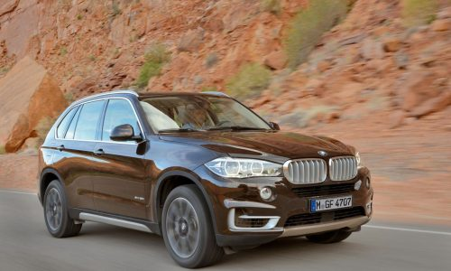 2014 BMW X5 officially revealed, improved handling and performance