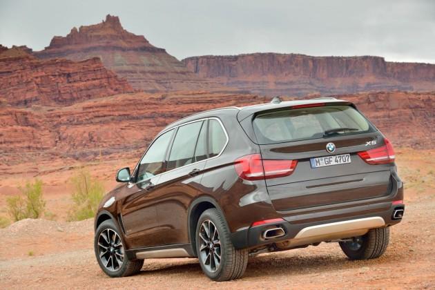 2014 BMW X5-back