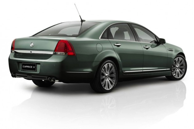 2014 Holden Caprice V rear