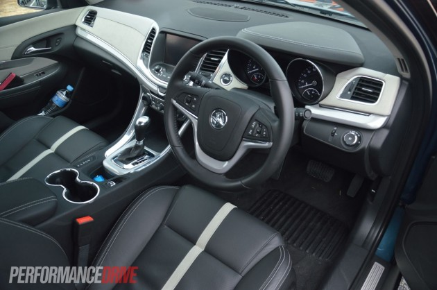 2014 Holden VF Calais V interior