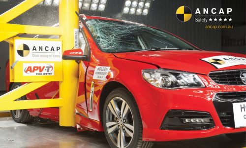 Holden VF Commodore earns five-star ANCAP safety rating