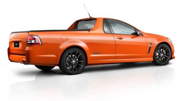 2014 Holden VF Commodore SS V Ute rear