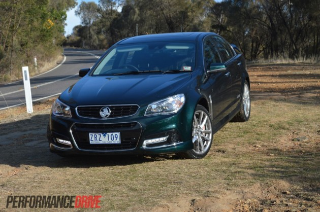 2014 Holden VF Commodore SSV Redline-front