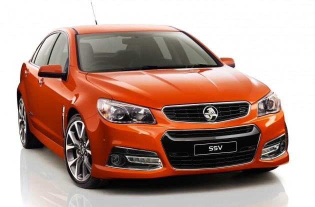 2014 Holden VF Commodore SSV front-Fantale-