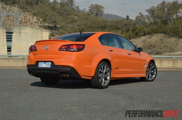 2014 Holden VF Commodore SSV-rear