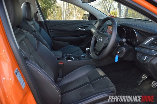 2014 Holden VF Commodore SV6 Ute interior-2