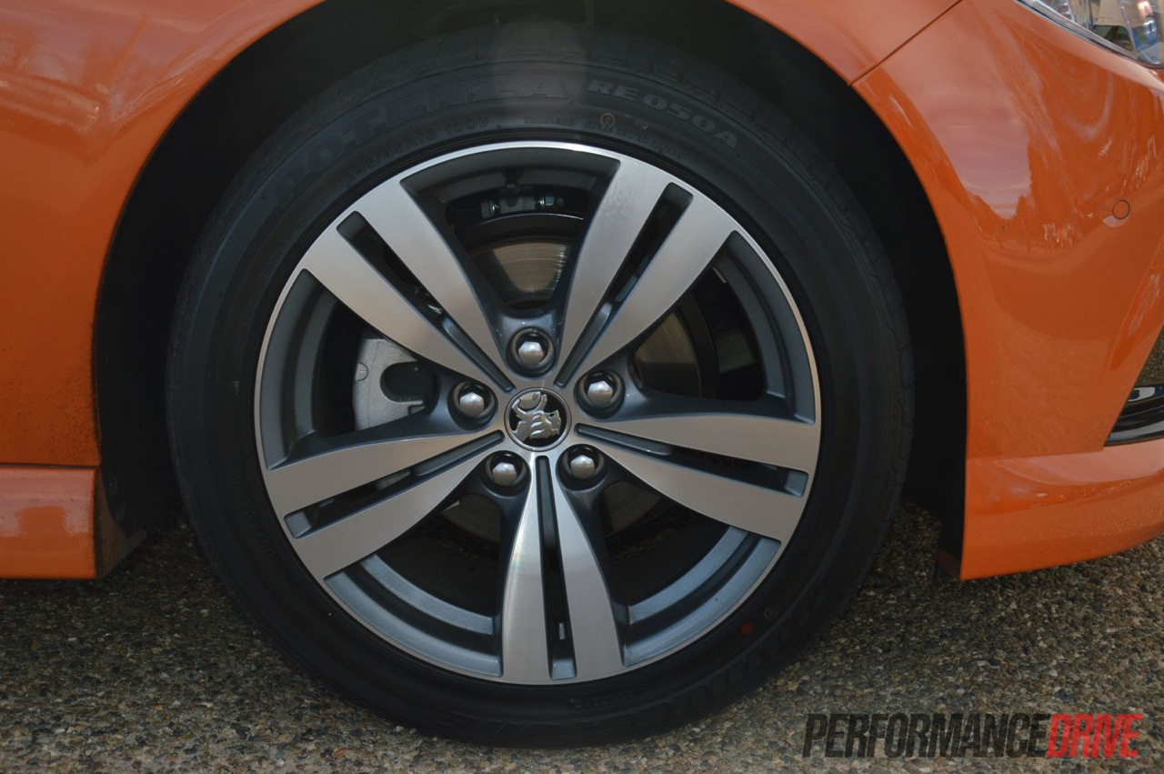 2014 Holden Vf Sv6 18in Wheels