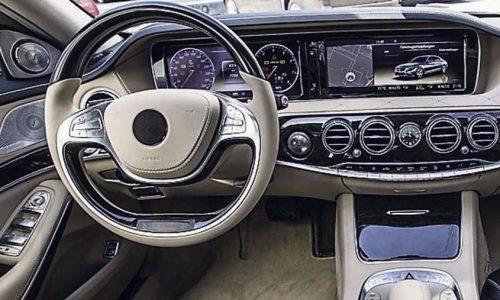 2014 Mercedes-Benz S-Class dash looks breathtaking