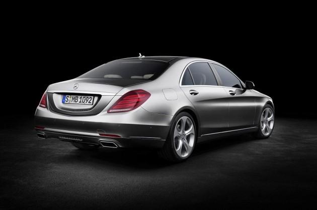 2014 Mercedes-Benz S-Class rear