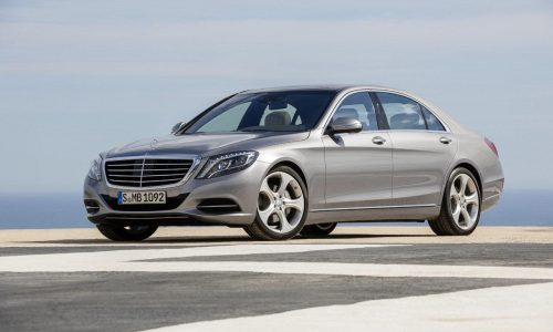 2014 Mercedes-Benz S-Class revealed: official