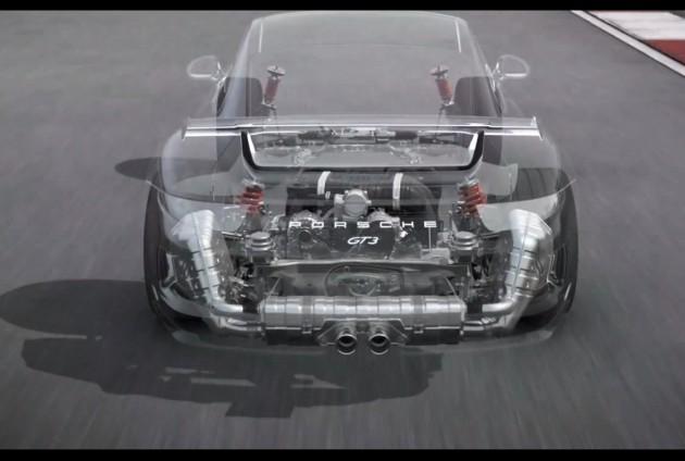 2014 Porsche 911 GT3-details