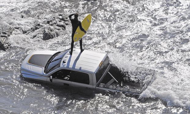 2014 Ram Power Wagon beach photoshoot-3