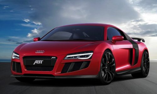 ABT 2013 Audi R8 V10 tuning package announced