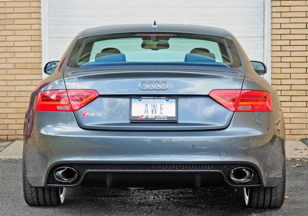 AWE Tuning RS 5 exhaust upgrade