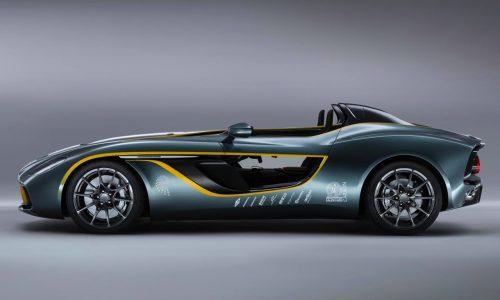 Aston Martin CC100 Speedster Concept commemorates 100th birthday