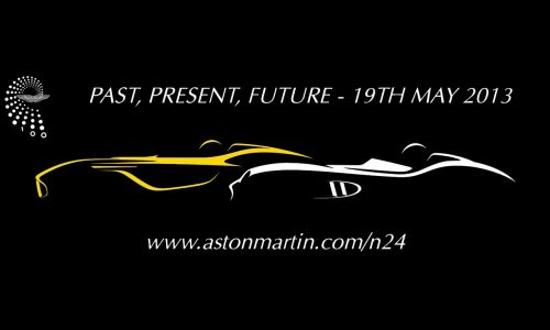 Aston Martin CC100 concept teaser, Nurburgring 24hr debut (video)