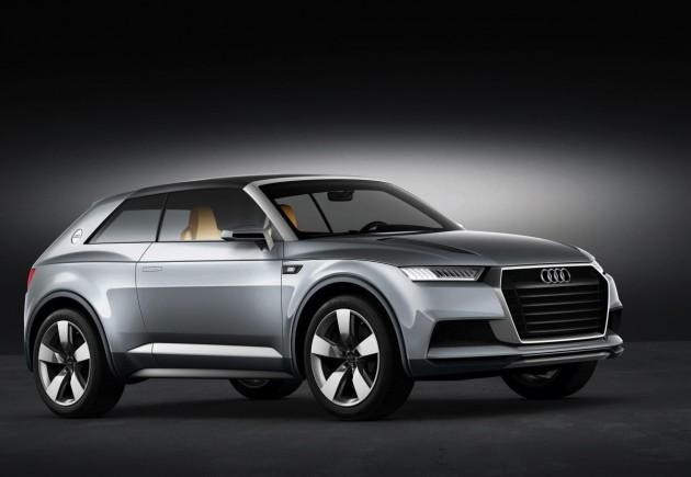 Audi Crossland Coupe Concept