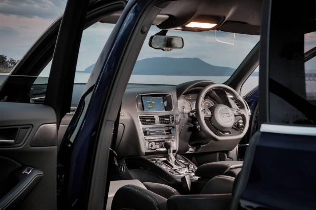 Audi SQ5 cabin