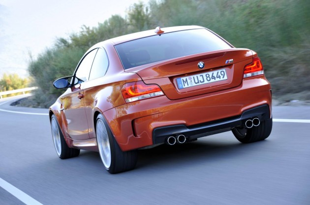 BMW 1 Series M Coupe rear